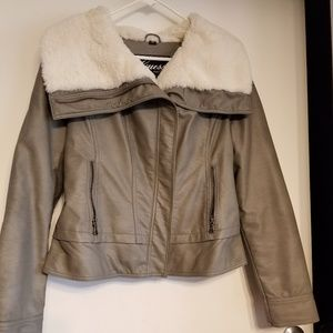 Soft leather Guess Jacket
